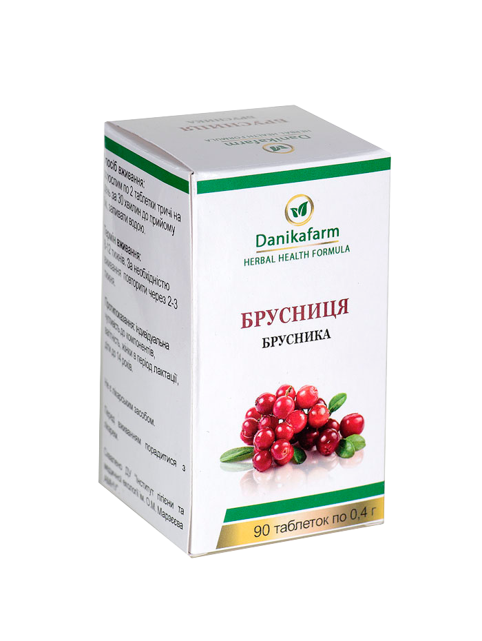 Брусниця Vaccinium vitis-idaca
