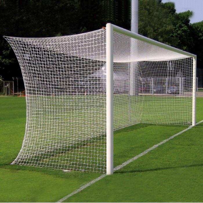 Сетка футбольная капроновая для футбольных ворот D-3,5 мм, яч.150*150 мм, 2,55*7,5*2,1 м