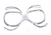 Диоптрическая вставка в лыжную маску ( для корректирующих линз вместо очков для зрения)
