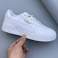 Кроссовки женские Puma Cali Remix All White