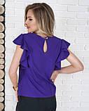 Блузы  11701  S фиолетовый, фото 3