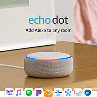 Колонка Amazon Echo Dot 3