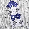 Детский летний конверт на выписку двусторонний, конверт-одеяло (ВЕСНА / ЛЕТО), конверт-плед для новорожденного, фото 4