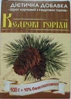 Шрот харчовий з кедрових горіхів 100г