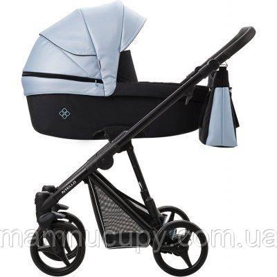Детская универсальная коляска 2 в 1 Bebetto Nitello SHINE 05 Голубой