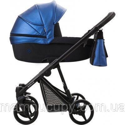 Дитяча універсальна коляска 2 в 1 Bebetto Nitello SHINE 02 Синій