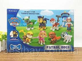 Детский набор (8 в 1) DOG SWAT Щенячий Патруль Герои-спасатели, фото 3