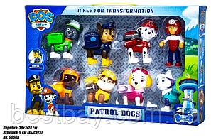 Детский набор (8 в 1) DOG SWAT Щенячий Патруль Герои-спасатели, фото 2
