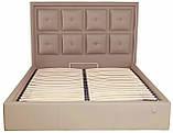 Кровать Richman Виндзор 140 х 200 см Флай 2213 Светло-коричневая, фото 2