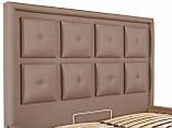 Кровать Richman Виндзор 140 х 200 см Флай 2213 Светло-коричневая, фото 6