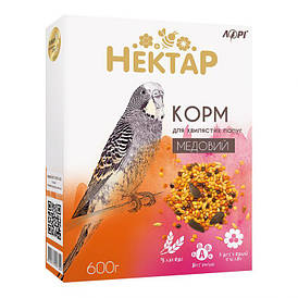 НЕКТАР медовый корм для волнистых попугаев Лори 600 г (5 упаковок)