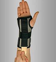 Бандаж на лучезапястный со съёмным ребром жесткости, короткий, длинный, с фиксацией первого пальца и без