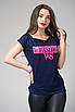 """Трендова жіноча футболка з принтом """"Челсі"""", фото 3"""
