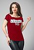 """Трендова жіноча футболка з принтом """"Челсі"""", фото 2"""