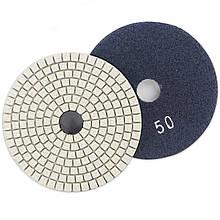 Алмазный гибкий шлифовальный круг ЧЕРЕПАШКА, АГШК зернистость 50, d 100мм