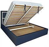 Кровать Двуспальная Richman Виндзор 180 х 200 см Флай 2227/2207 С подъемным механизмом и нишей для белья, фото 4