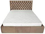 Кровать Richman Кембридж 120 х 190 см Missoni 04 С подъемным механизмом и нишей для белья Светло-коричневая, фото 2
