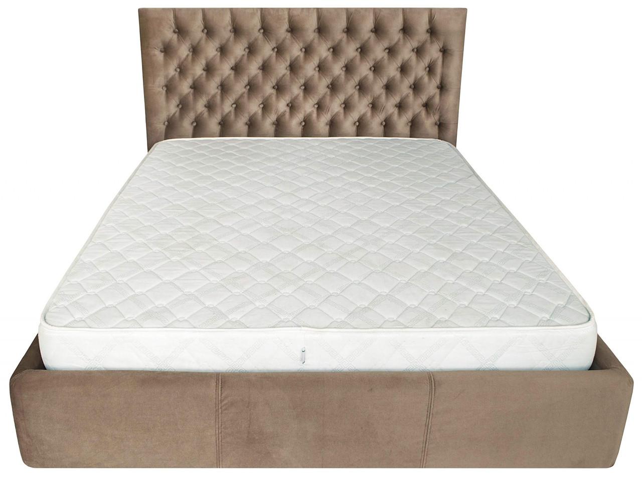 Кровать Richman Кембридж 120 х 200 см Missoni 04 Светло-коричневая