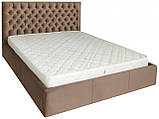 Кровать Richman Кембридж 120 х 200 см Missoni 04 Светло-коричневая, фото 2