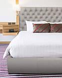 Кровать Richman Кембридж 120 х 200 см Мисти Milk A1 С подъемным механизмом и нишей для белья Бежевая, фото 7