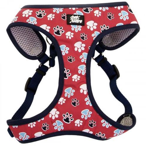 Шея Coastal Designer Wrap для собак от 4.5 до 8,2 кг, красный, 48.3-58.4 см