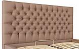 Кровать Richman Кембридж 140 х 190 см Флай 2213 С подъемным механизмом и нишей для белья Светло-коричневая, фото 6