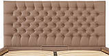 Кровать Richman Кембридж 140 х 190 см Флай 2213 Светло-коричневая, фото 5