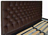 Кровать Двуспальная Richman Кембридж 160 х 190 см Missoni 011 С подъемным механизмом и нишей для белья, фото 3