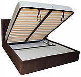 Кровать Двуспальная Richman Кембридж 160 х 190 см Missoni 011 С подъемным механизмом и нишей для белья, фото 4