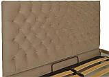 Кровать Двуспальная Richman Кембридж 160 х 190 см Альмира 02 С подъемным механизмом и нишей для белья Кофе, фото 3