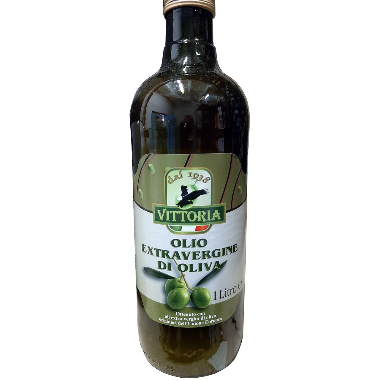 Олія оливкова VITTORIA, Extravergine, 1 л, 12 шт/ящ