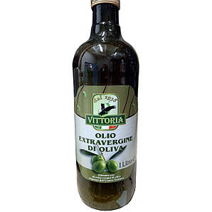 Олія оливкова VITTORIA Полотно Exvergine 1 л. 12 шт/ящ.