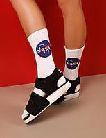 Женские носки LOMM Premium NASA белые