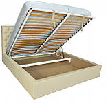 Кровать Двуспальная Richman Кембридж 160 х 190 см Флай 2207 A1 С подъемным механизмом и нишей для белья, фото 4