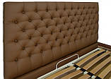 Кровать Двуспальная Richman Кембридж 160 х 190 см Флай 2213 A1 Светло-коричневая, фото 3