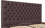 Кровать Двуспальная Richman Кембридж 160 х 190 см Флай 2231 Темно-коричневая, фото 7