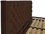 Кровать Двуспальная Richman Кембридж 160 х 200 см Мисти Chocolate С подъемным механизмом и нишей для белья, фото 3