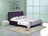Кровать Двуспальная Richman Кембридж 160 х 200 см Мисти Chocolate С подъемным механизмом и нишей для белья, фото 9