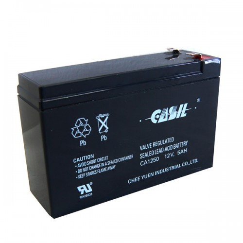 12V, 5,0Аh аккумулятор Casil , свинцово-кислотный, CA1250