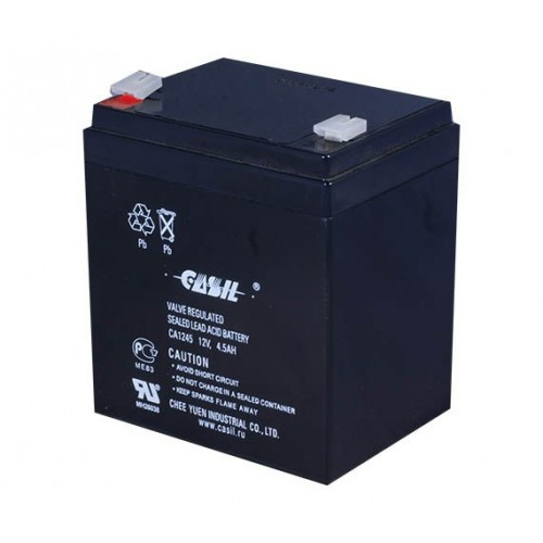 12V, 4,5Аh аккумулятор Casil , свинцово-кислотный, CA1245