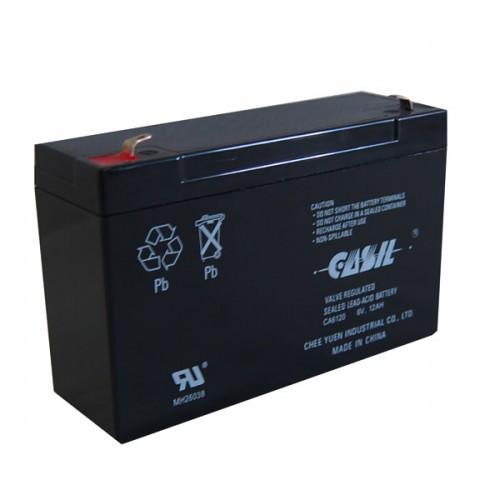 6V, 12Аh аккумулятор Casil , свинцово-кислотный, CA6120