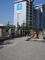 Благоустройство Киев, жилые дома