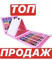 Набор канцелярских товаров для рисования с мольбертом M+ Art Set Розовый