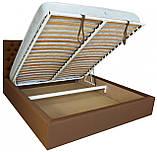 Кровать Двуспальная Richman Кембридж 180 х 200 см Флай 2213 A1 С подъемным механизмом и нишей для белья, фото 4