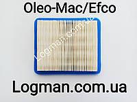 Фильтр воздушный для газонокосилки Oleo-Mac G/GV/GH 44,48, 53 PK/VK/TK (L66150715)