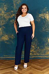 Брюки льняные женские большого размера. Льняные брюки большого размера.Брюки из льна. Льняные брюки женские большого размера.