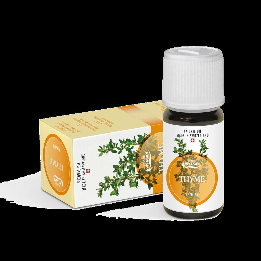 Ефірна олія Чебрець, натуральна, Швейцарія / Thyme