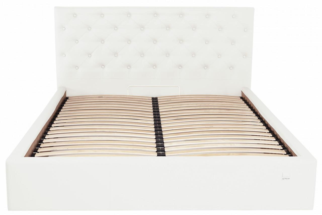 Кровать Richman Ковентри 120 х 190 см Флай 2200 С подъемным механизмом и нишей для белья Белая
