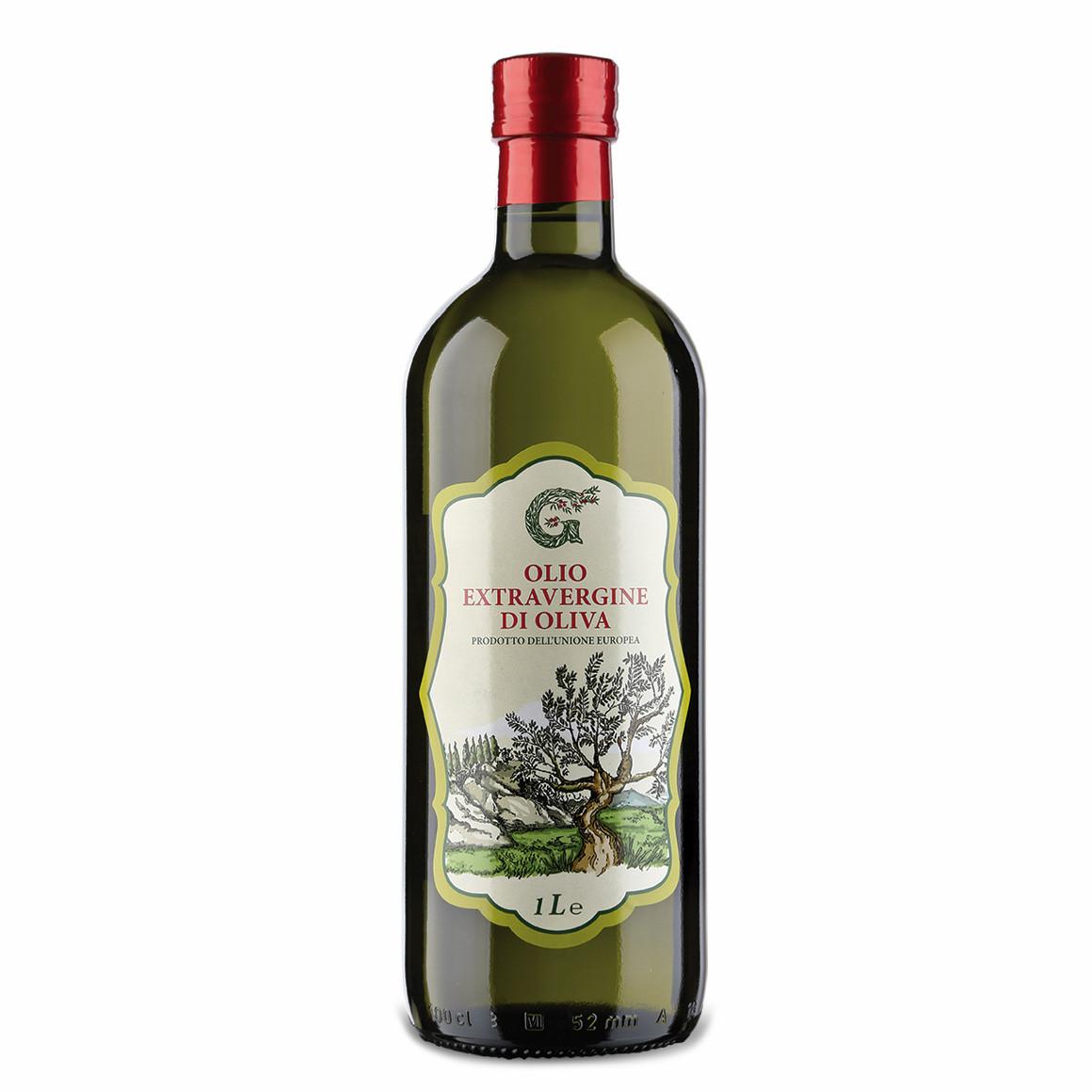 Олія оливкова Olearia del Garda,1л, 12шт/ящ