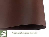 Дизайнерский картон Malmero TOURBE, темно-шоколадный, гладкий 250 г/м2